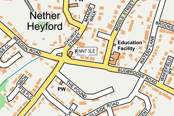 NN7 3LE map - OS OpenMap – Local (Ordnance Survey)
