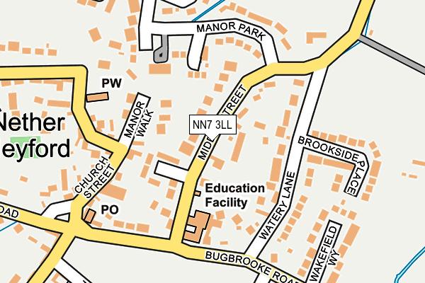 NN7 3LL map - OS OpenMap – Local (Ordnance Survey)