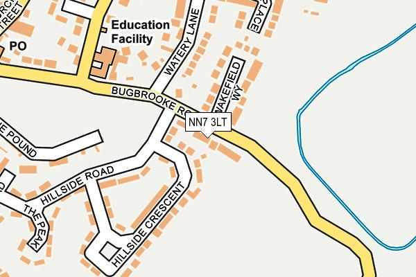 NN7 3LT map - OS OpenMap – Local (Ordnance Survey)