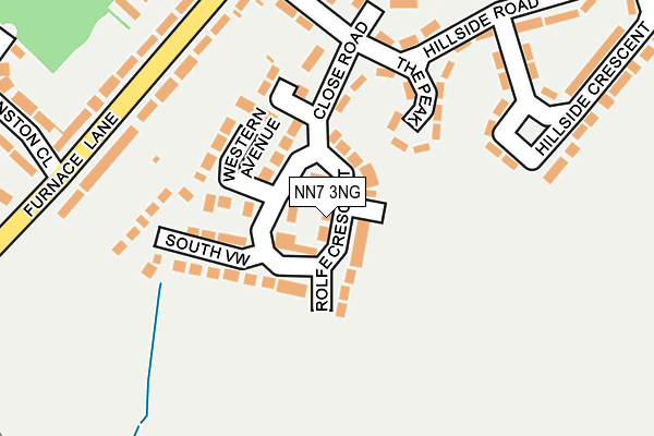 Map of FRONT PHOTOGRAPHY LTD at local scale