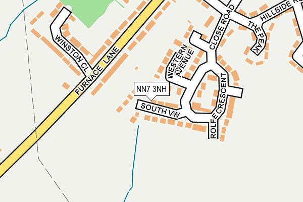 NN7 3NH map - OS OpenMap – Local (Ordnance Survey)