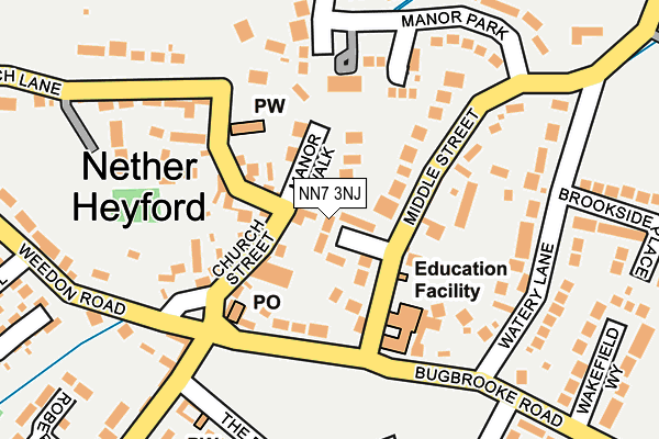 Map of ASPECT PSYCHOLOGY LTD at local scale