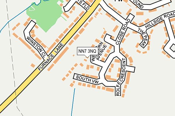 NN7 3NQ map - OS OpenMap – Local (Ordnance Survey)