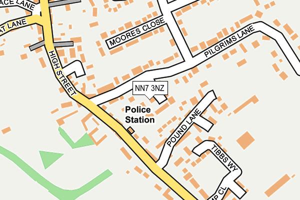NN7 3NZ map - OS OpenMap – Local (Ordnance Survey)