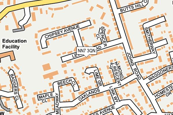 NN7 3QN map - OS OpenMap – Local (Ordnance Survey)