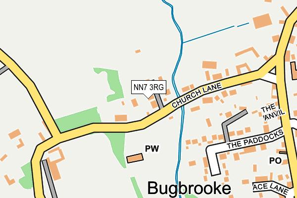 NN7 3RG map - OS OpenMap – Local (Ordnance Survey)