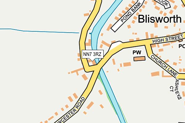 NN7 3RZ map - OS OpenMap – Local (Ordnance Survey)