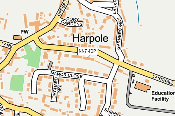 NN7 4DP map - OS OpenMap – Local (Ordnance Survey)