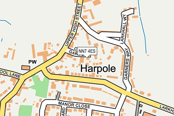 NN7 4ES map - OS OpenMap – Local (Ordnance Survey)
