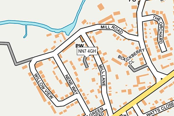 NN7 4GH map - OS OpenMap – Local (Ordnance Survey)