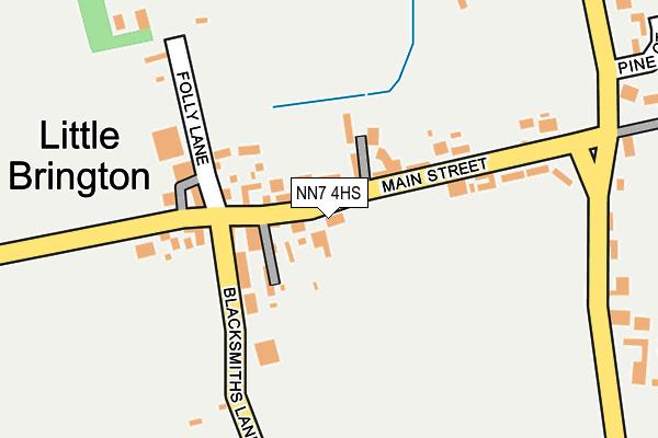 NN7 4HS map - OS OpenMap – Local (Ordnance Survey)