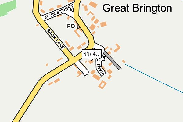 NN7 4JJ map - OS OpenMap – Local (Ordnance Survey)