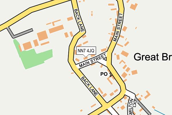 NN7 4JQ map - OS OpenMap – Local (Ordnance Survey)