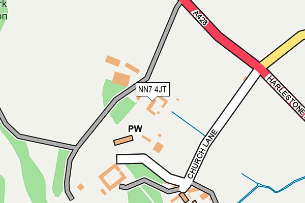 NN7 4JT map - OS OpenMap – Local (Ordnance Survey)