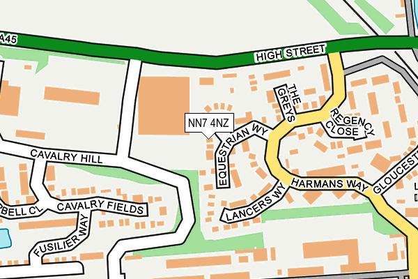 NN7 4NZ map - OS OpenMap – Local (Ordnance Survey)