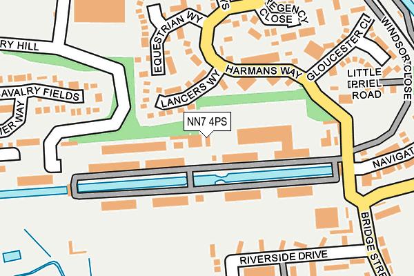 Map of L&A ART STUDIO LTD at local scale