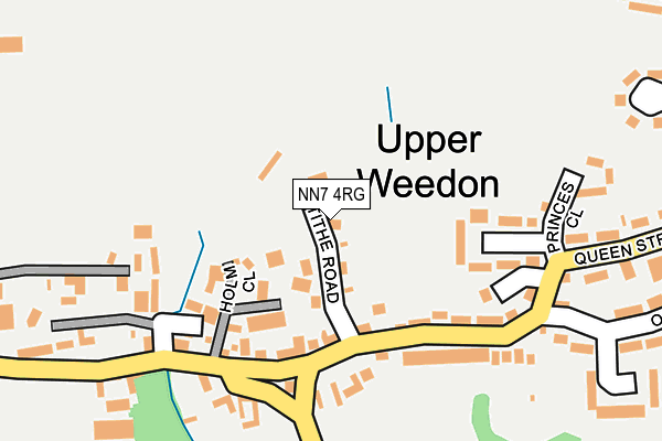 NN7 4RG map - OS OpenMap – Local (Ordnance Survey)
