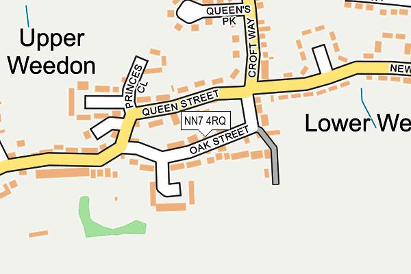 NN7 4RQ map - OS OpenMap – Local (Ordnance Survey)