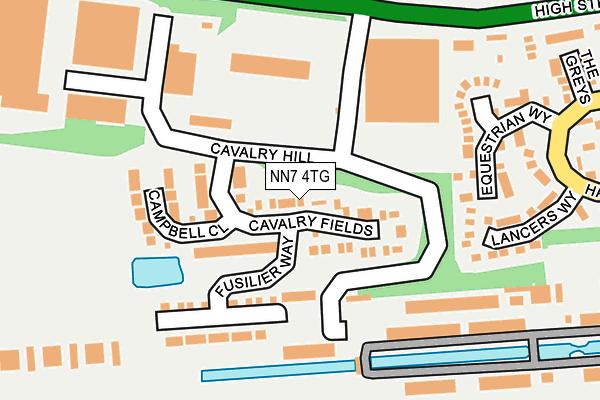 NN7 4TG map - OS OpenMap – Local (Ordnance Survey)
