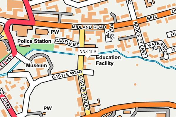 NN8 1LS map - OS OpenMap – Local (Ordnance Survey)