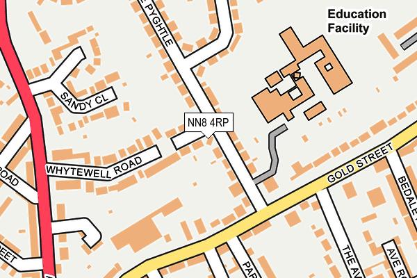 NN8 4RP map - OS OpenMap – Local (Ordnance Survey)