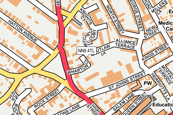 NN8 4TL map - OS OpenMap – Local (Ordnance Survey)