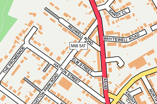 NN8 5AT map - OS OpenMap – Local (Ordnance Survey)