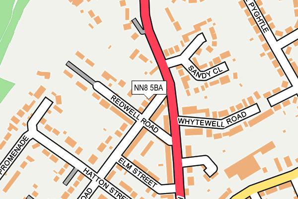 NN8 5BA map - OS OpenMap – Local (Ordnance Survey)