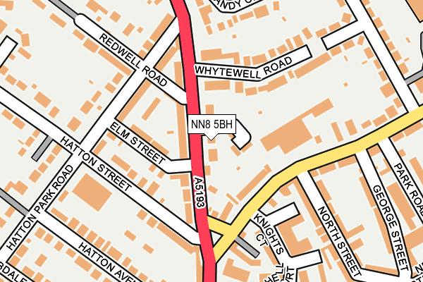 NN8 5BH map - OS OpenMap – Local (Ordnance Survey)
