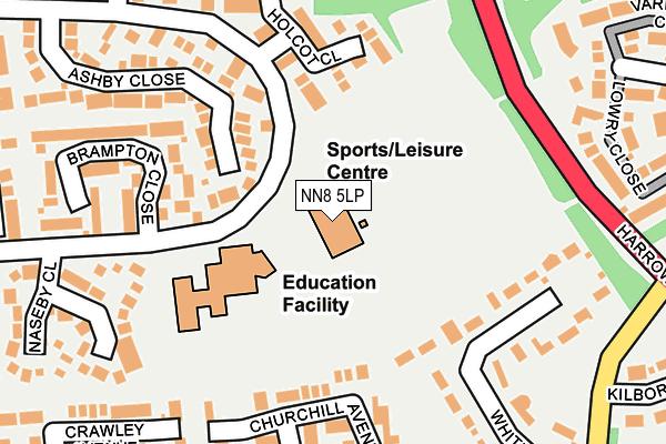 NN8 5LP map - OS OpenMap – Local (Ordnance Survey)