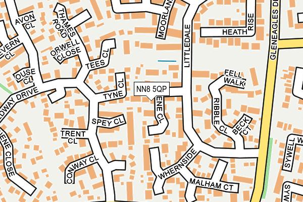 NN8 5QP map - OS OpenMap – Local (Ordnance Survey)