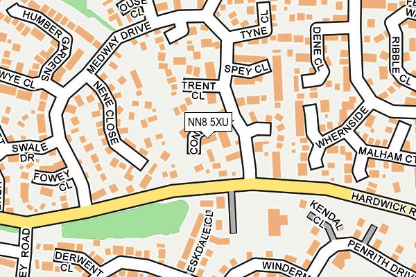 NN8 5XU map - OS OpenMap – Local (Ordnance Survey)