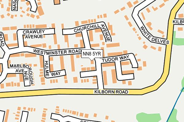 NN8 5YR map - OS OpenMap – Local (Ordnance Survey)