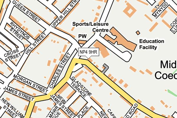 NP4 9HR map - OS OpenMap – Local (Ordnance Survey)