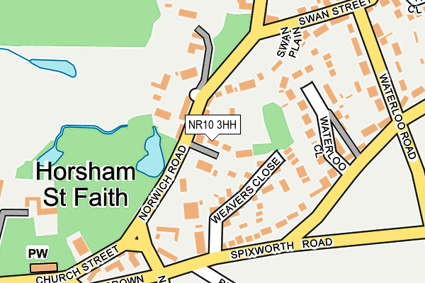 Map of ELM FARM COUNTRY HOUSE LIMITED at local scale
