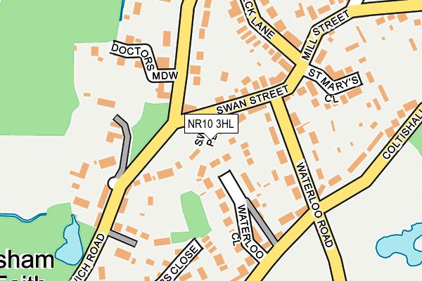 Map of SENEYE LTD at local scale