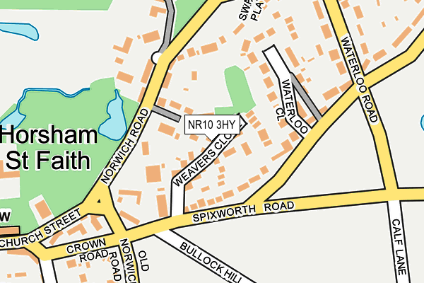 Map of DMJ (NORFOLK) LTD at local scale