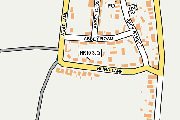 Map of PROUDBOLD SERVICES LIMITED at local scale