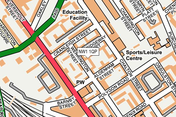 NW1 1QP map - OS OpenMap – Local (Ordnance Survey)