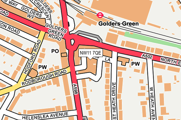 Nw11 7qe Maps Stats And Open Data