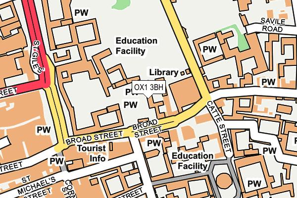 OX1 3BH map - OS OpenMap – Local (Ordnance Survey)