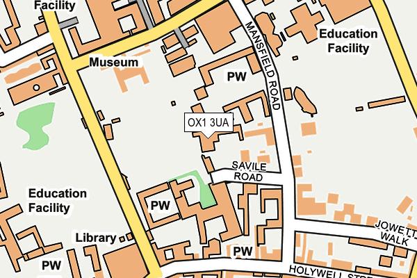 OX1 3UA map - OS OpenMap – Local (Ordnance Survey)