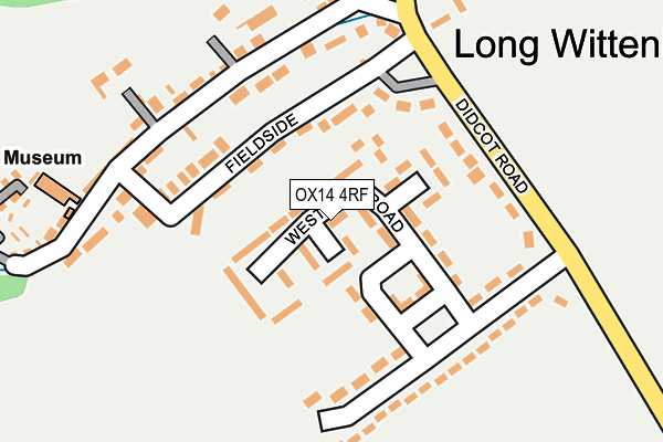 Map of TELPIP CONSULTING LIMITED at local scale