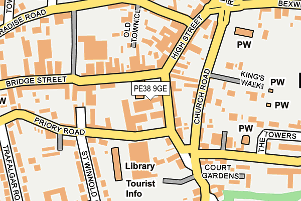 Pe38 9ge Maps Stats And Open Data