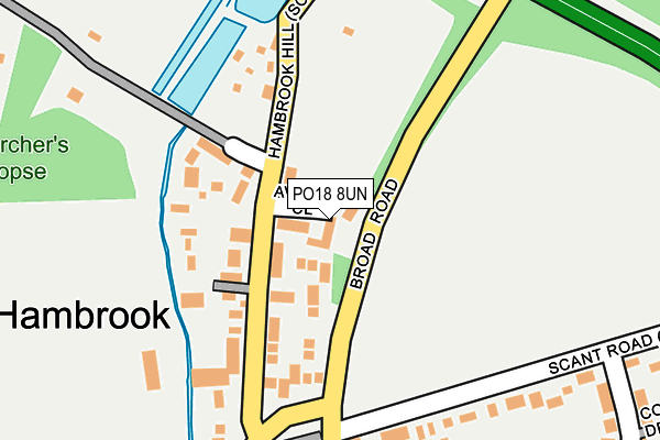 Map of GOODWOOD PARTNERS LIMITED at local scale