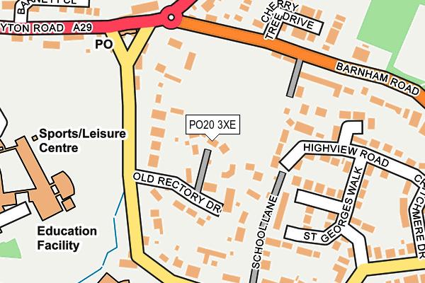 PO20 3XE map - OS OpenMap – Local (Ordnance Survey)