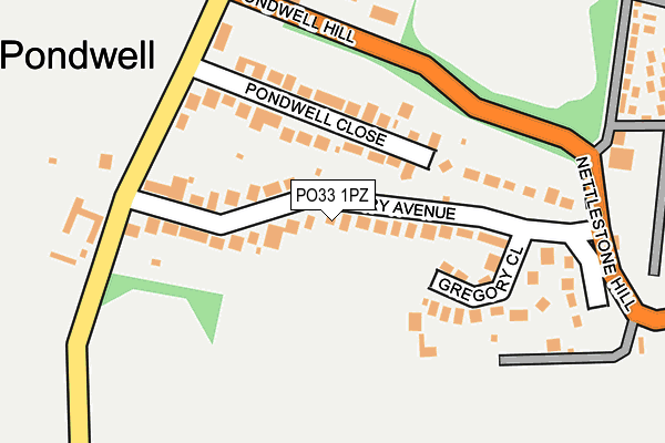 Map of WIGHT GREEN ENERGY LTD at local scale