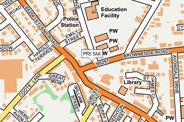 Pr5 5aa Maps Stats And Open Data