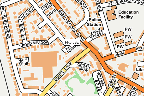 Pr5 5se Maps Stats And Open Data