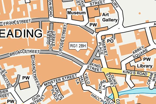 RG1 2BH map - OS OpenMap – Local (Ordnance Survey)